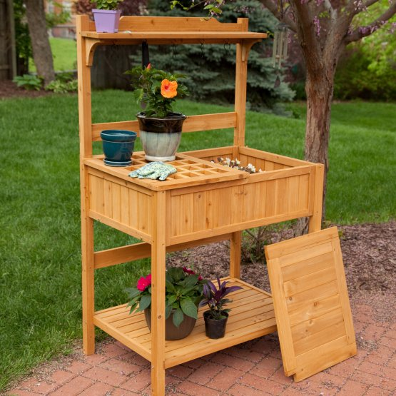 Phenomenal Garden Potting Bench Ocoug Best Dining Table And Chair Ideas Images Ocougorg