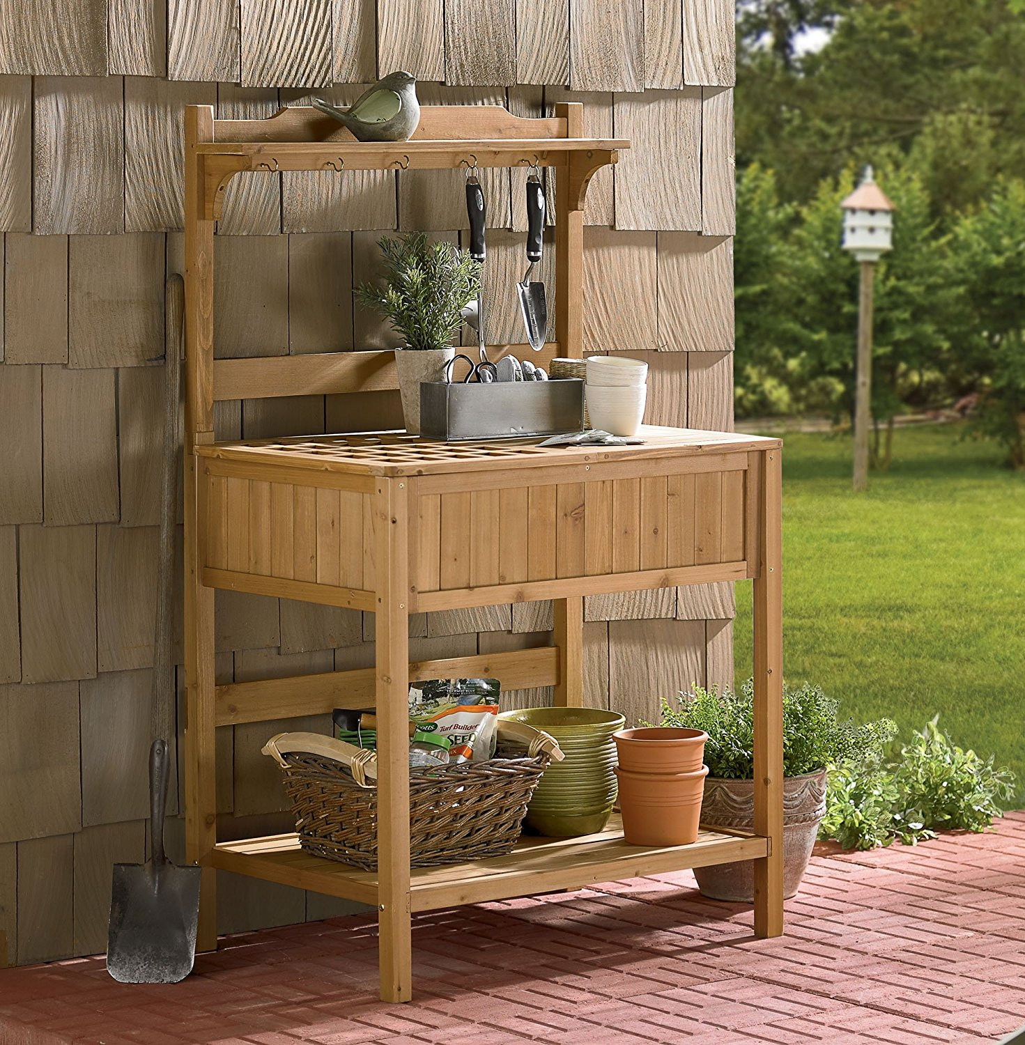 Garden Work Table Bench